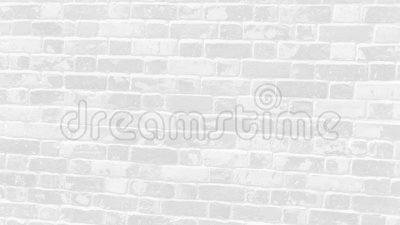Mur en brique gris clair banque de vidéos