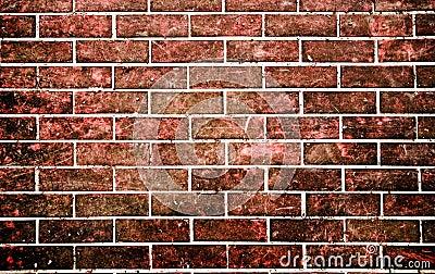 mur en pierre de brique rouge dans le type grunge. Black Bedroom Furniture Sets. Home Design Ideas