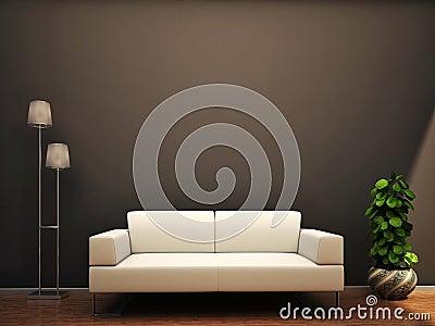 Sofa et lampe image stock   image: 34657561
