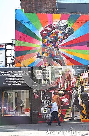Free Mural In Chelsea Stock Image - 30912721