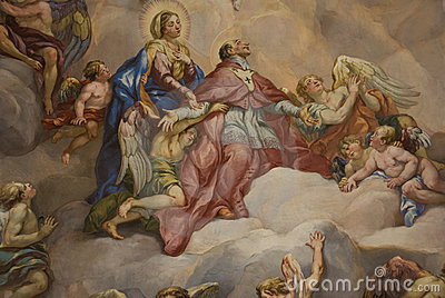 Mural painting - Pray