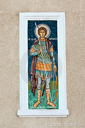 Mural religious paintings