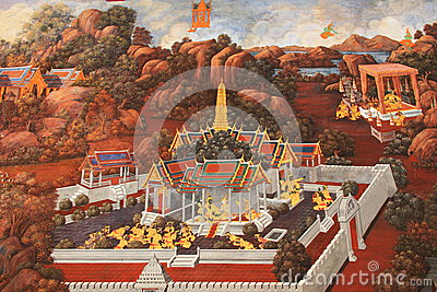 Mural thailand
