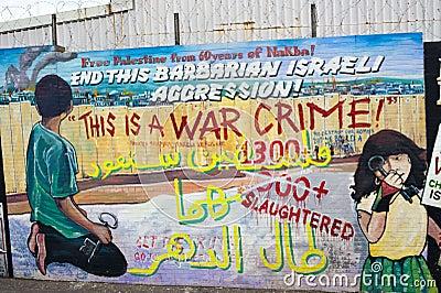Murals in Belfast Editorial Photo