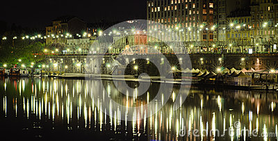 The Murazzi of Turin