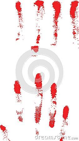 Murder Blood Splatter