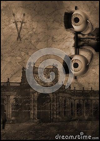 murder eye ghost castle