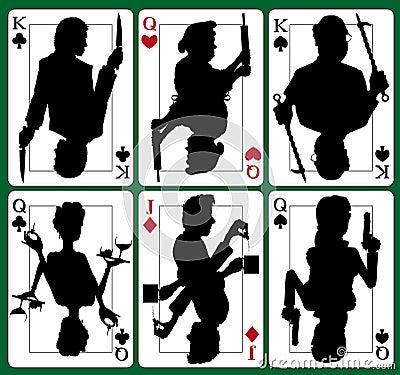 Murder mystery cards