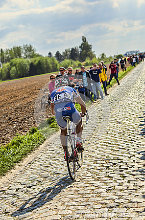 Murilo Antonio Fischer- Paris Roubaix 2014 Editorial Stock Photo