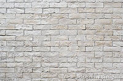 Muro di mattoni bianco fotografia stock libera da diritti for Mattonelle da muro