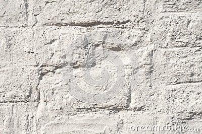 Muro Di Mattoni Verniciato Bianco Immagini Stock - Immagine: 14075044