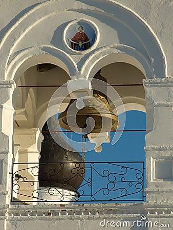 Murom. Bell tower of the Spasskogo monastery