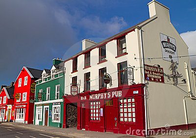 Murphy pub s Zdjęcie Editorial