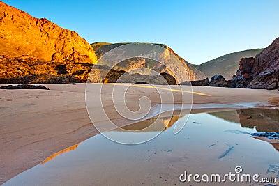 Murração beach, Vila do Bispo, Portugal