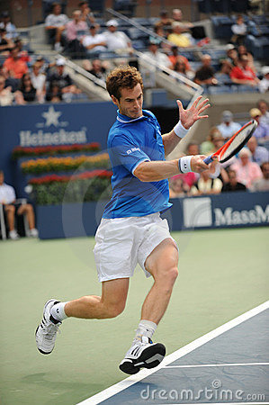 Murray Andy at US Open 2009 (12) Editorial Photography