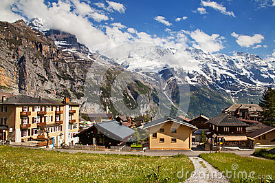 Murren in summer