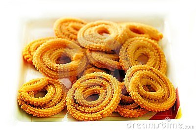 Muruku - popular south indian deep fried snack