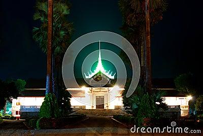 Musée dans le Laotien