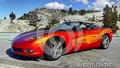 Muscle Car, Sports Car