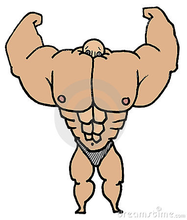 muscle man stock images image 10479204 muscle clipart muscle clip art images