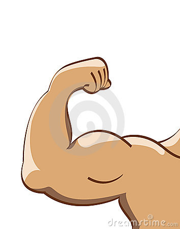 Muscle Man Royalty Free Stock Images - Image: 6630179