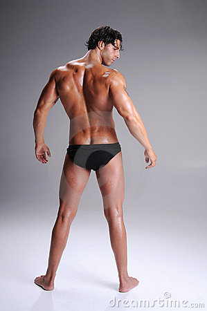 Muscle Man In Briefs