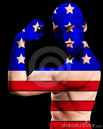 Free Muscle Man US 10 Stock Photography - 2366832