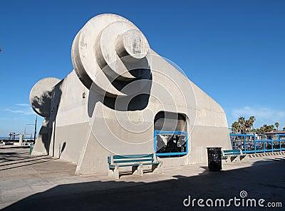 Muscle Venise de la Californie de plage