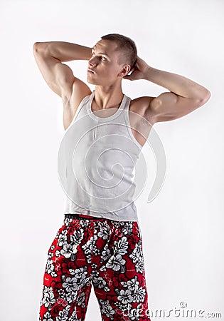 Muscular boy