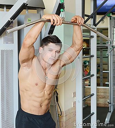 Muscular male