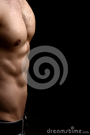 Free Muscular Male Torso Royalty Free Stock Photo - 61951795