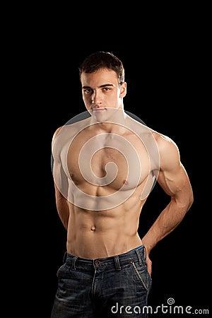 Free Muscular Man Royalty Free Stock Photo - 11600005