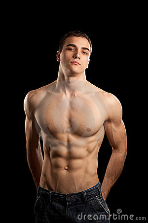 Free Muscular Man Royalty Free Stock Photography - 11600077