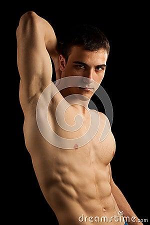 Free Muscular Man Royalty Free Stock Image - 11600346