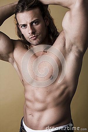 Free Muscular Man Royalty Free Stock Images - 11695159