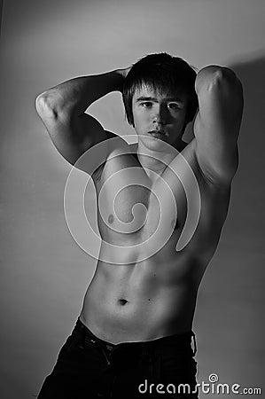 Free Muscular Man Stock Photos - 17495773