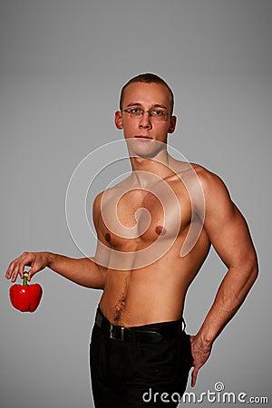 Free Muscular Man Stock Photography - 17570672
