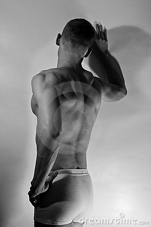 Free Muscular Man Stock Image - 17570711