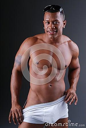 Free Muscular Man. Royalty Free Stock Photos - 7397688