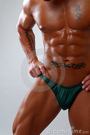Free Muscular Torso Stock Photography - 3886022