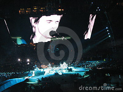 Muse Concert on October 1, 2009 Editorial Image