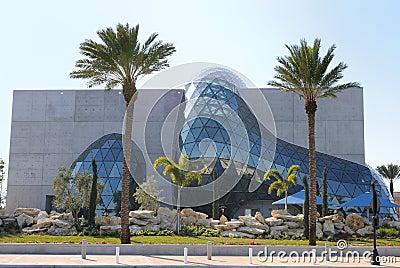 Musée de Salvador Dali Image stock éditorial
