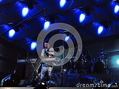Muse - matthew bellamy Editorial Stock Photo