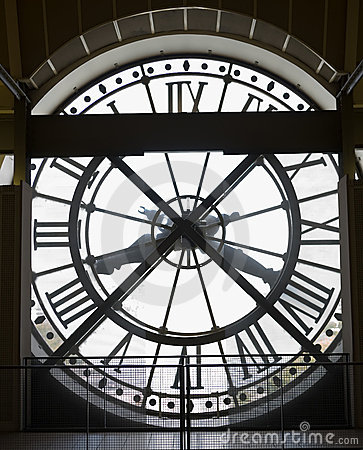 Musee d Orsay Museum Clock