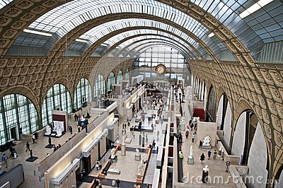 Musee d Orsay Editorial Image