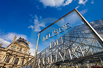 Musee du Louvre Editorial Photography
