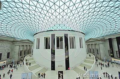 Museo británico Imagen de archivo editorial