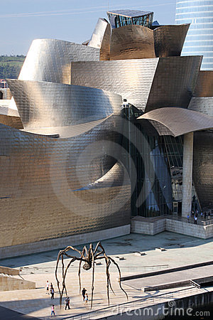 Museo de Blibao Imagen editorial