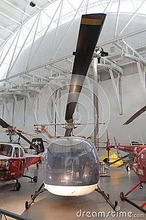 Museo del aire y de espacio Imagen de archivo editorial