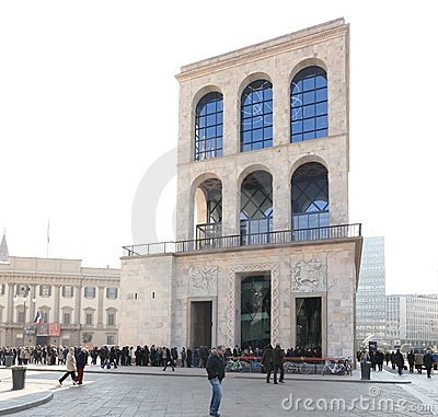 Museo del Novecento Editorial Stock Photo